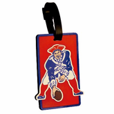 Old School New England Patriots Luggage Tag