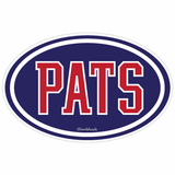 PATS Oval Sticker