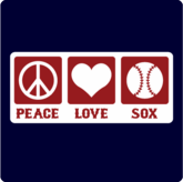 Peace, Love, Sox T-Shirt / Sweatshirt