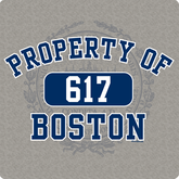 Property Of Boston (617) T-Shirt