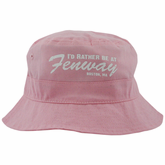 Rather Be At Fenway Infant/Toddler Bucket Hat Pink