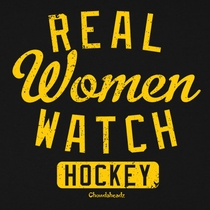 Real Women Watch Hockey T-Shirt