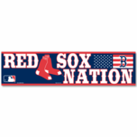 Red Sox Nation 3x12 Bumper Sticker