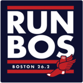 Run Bos, Boston Marathon T-Shirt / Sweatshirt