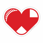 Sox Heart Sticker