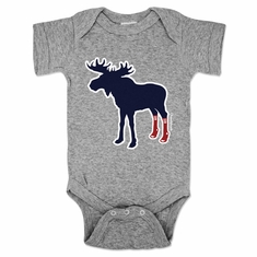 Sox On Moose Infant One Piece