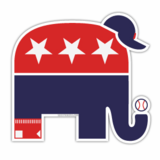 Sox Republican Sticker