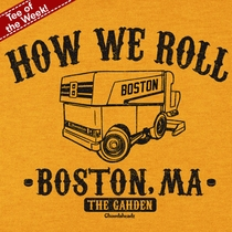 T-Shirt Of The Week How We Roll, Ships Right Away