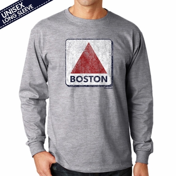 """T-Shirt Of The Week """"Distressed Boston Sign"""", Ships Right Away"""
