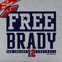 Free Brady T-Shirt, Ready To Ship