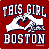 This Girl Loves Boston T-Shirt