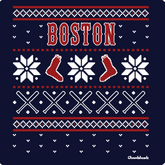 Ugly Holiday Sweater Boston T-Shirt