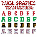 Wall Graphic Letters