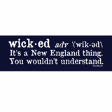 Wicked Definition Sticker