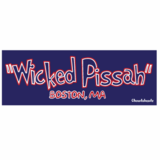 Wicked Pissah - Boston MA Sticker