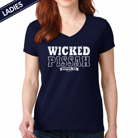 Wicked Pissah T-Shirt, Boston MA
