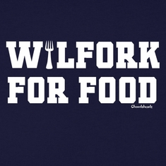 Wilfork For Food T-Shirt