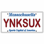 YNKSUX License Plate Sticker