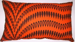 AW17 Untreated cotton African wax print pillow cover