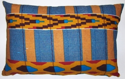 AW21 Untreated cotton African wax printed pillow cover