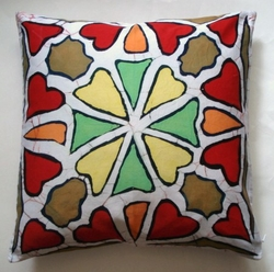 BTK07 Untreated cotton Batik pillow cover