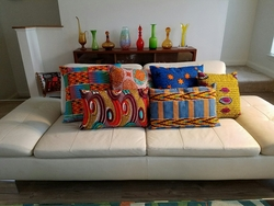 Wax Print Pillow Covers
