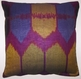 IKT114  Silk/cotton ikat pillow cover