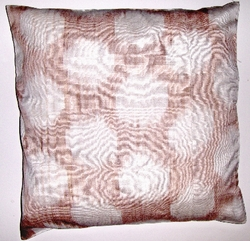 IKT064 silk/cotton ikat pillow cover