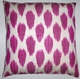 IKT068 Silk/cotton ikat  pillow cover