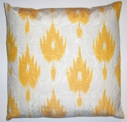 IKT09  Silk/Cotton Ikat Pillow cover