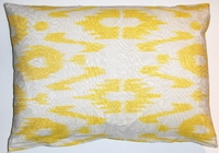 IKT144 Silk/cotton ikat pillow cover