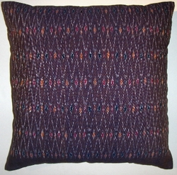 IKT32  Cotton ikat pillow cover