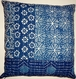 IND11 Block printed kantha cotton pillow covers (set of 2)