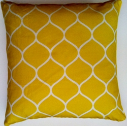 OC38 Printed organic cotton pillow cover
