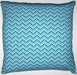 OC42 Printed organic cotton pillow cover