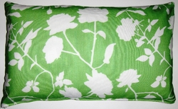 OC45 Printed organic cotton pillow cover