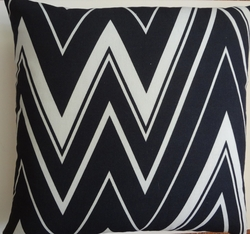 OC46 Printed organic cotton pillow cover