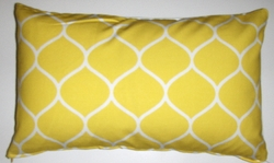 OC48 Printed organic cotton pillow cover