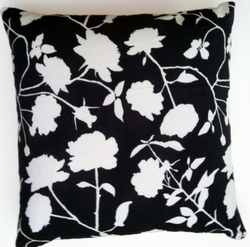 OC49 Printed organic cotton pillow cover