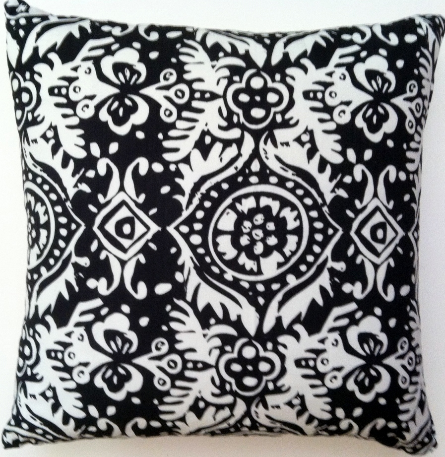 OC50 Printed organic cotton pillow cover