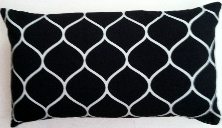 OC53 Printed organic cotton pillow cover