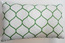 OC54 Printed organic cotton  pillow cover