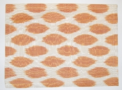 PL40 Silk/cotton ikat placemat