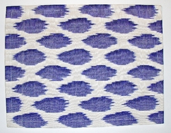 PL41 Silk/cotton ikat placemat