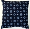 SH4 Japanese shibori tie-dyed pillow cover