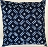 SH7 Japanese shibori tie-dyed pillow cover