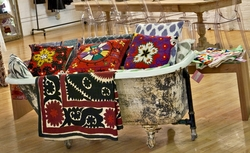 Suzanis & Embroidered Pillow Covers