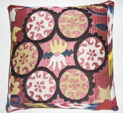 SZN17 Vintage suzani pillow cover