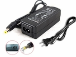 Acer Aspire One AOD255E-1482, D255E-1482 Charger, Power Cord
