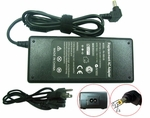 Asus A45N, A55N Charger, Power Cord